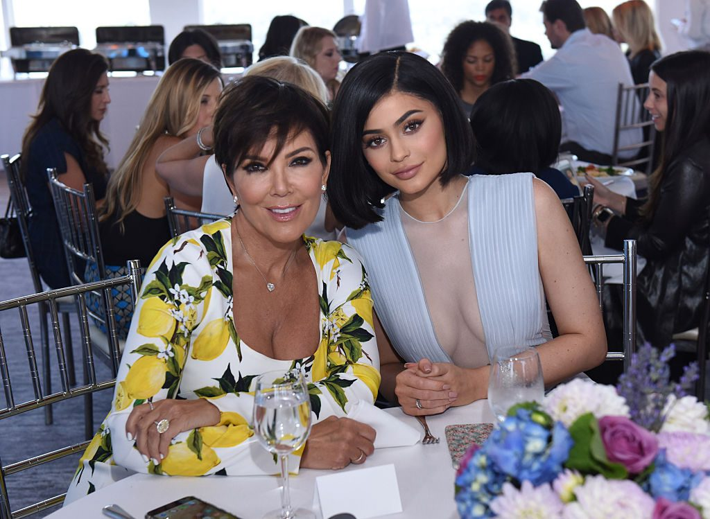 Kris Jenner and Kylie Jenner attend SinfulColors