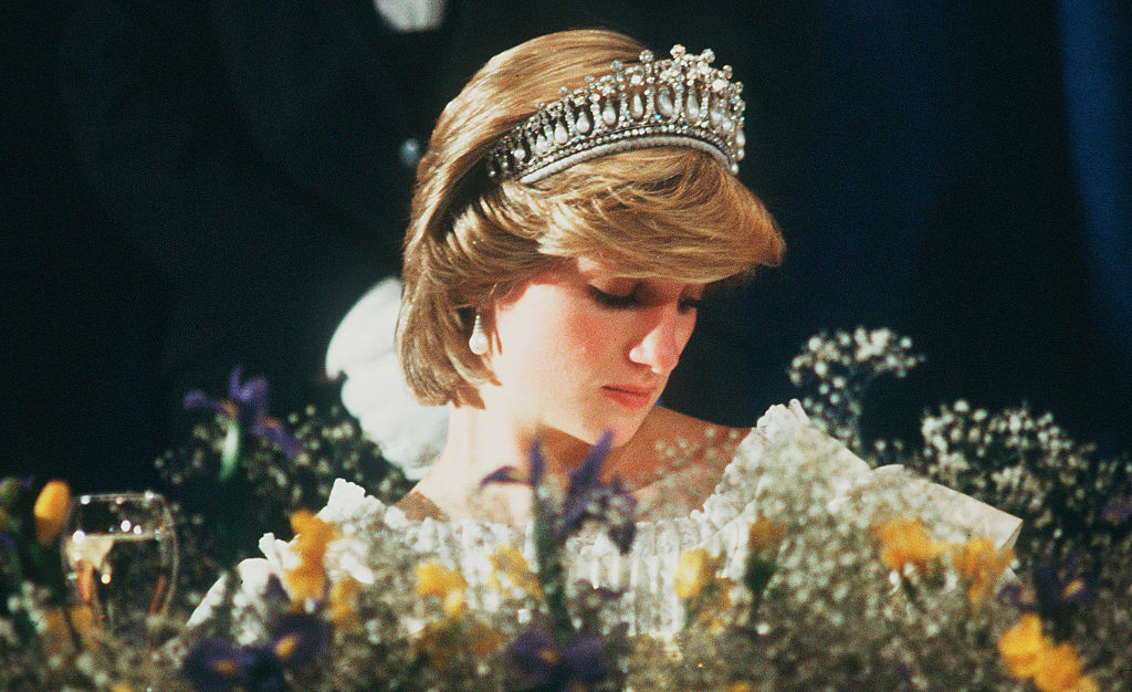 Princess Diana in the Lover's Knot Tiara