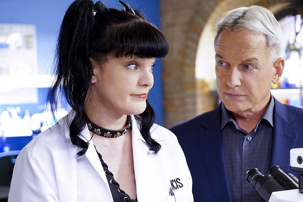 Mark Harmon and Pauley Perrette | Sonja Flemming/CBS via Getty Images
