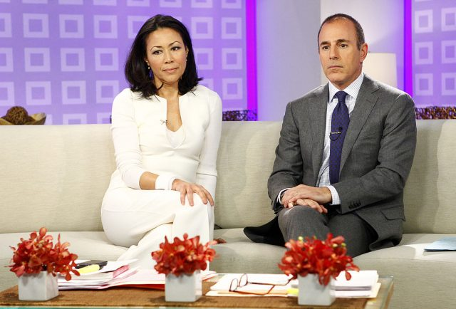 Former 'Today' anchors Ann Curry and Matt Lauer