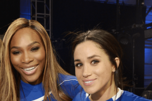 Serena Williams Gushes About Her Friendship With Meghan Markle