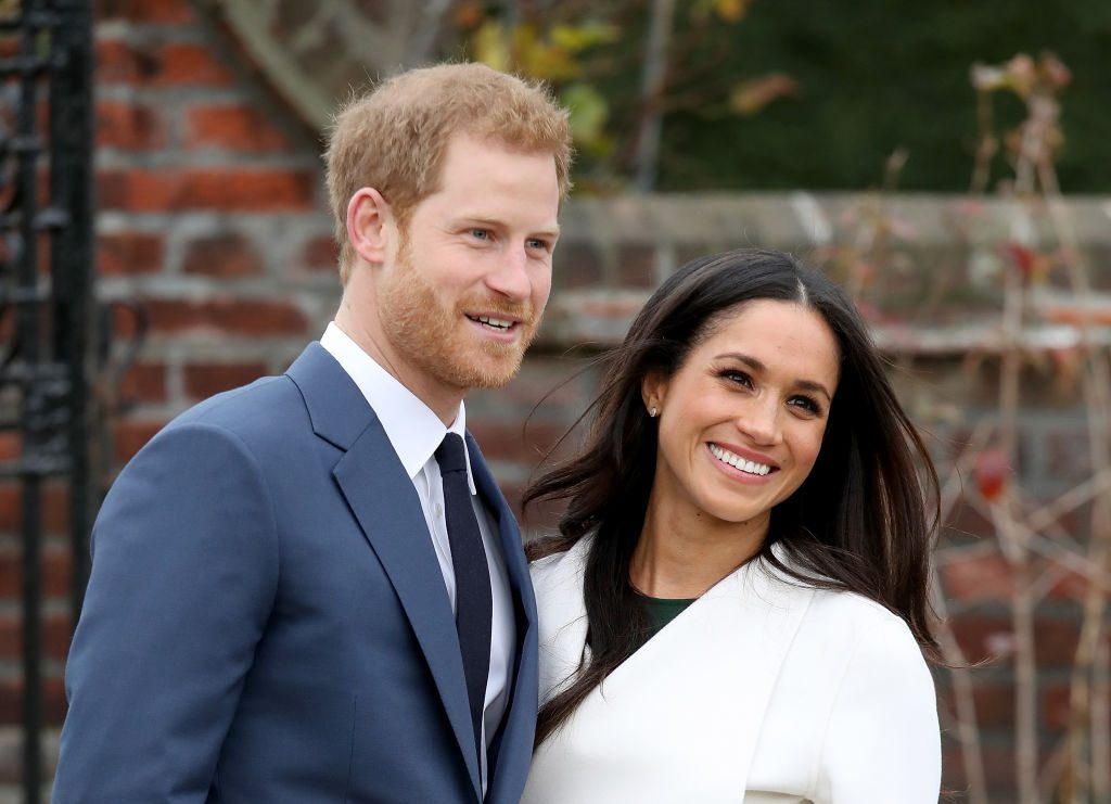 Meghan Markle Announcement Of Prince Harry's Engagement To Meghan Markle
