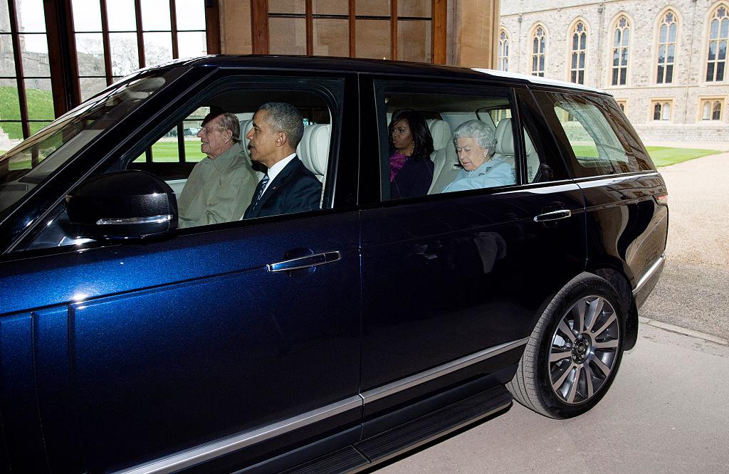 Obamas and royals
