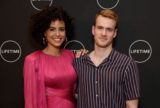 Parisa Fitz-Henley and Murray Fraser