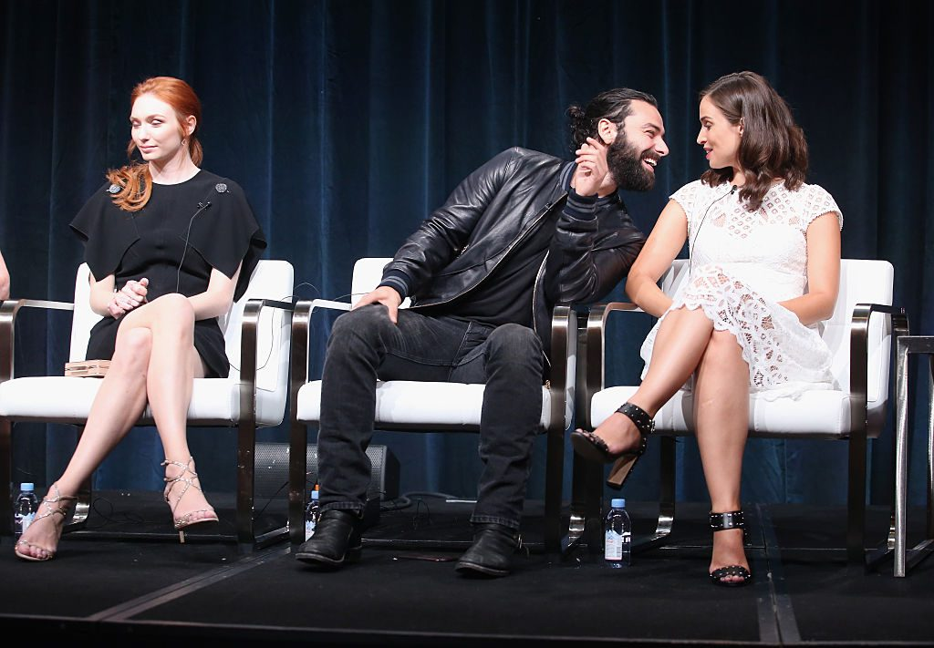 Actors Eleanor Tomlinson, Aidan Turner and Heida Reed |Frederick M. Brown/Getty Images