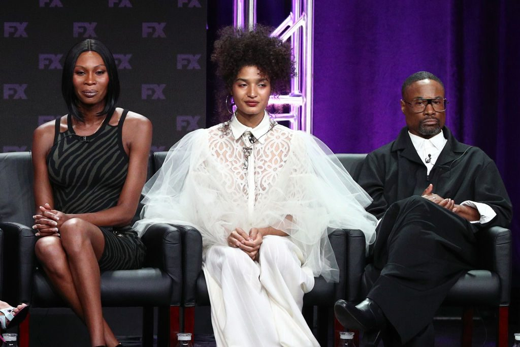 Dominique Jackson, Indya Moore, and Billy Porter