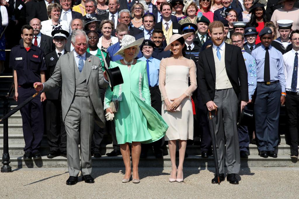 Prince Charles and Meghan Markle