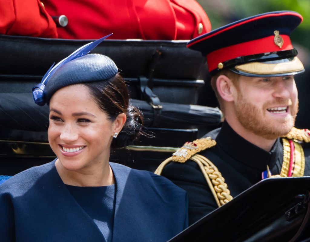 Prince Harry and Megan Mark go out of color 2019