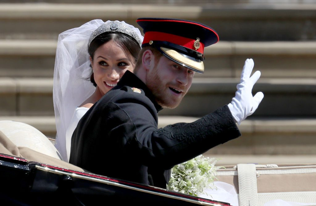 Prince Harry and Meghan Markle's royal wedding | Jane Barlow/PA Images via Getty Images