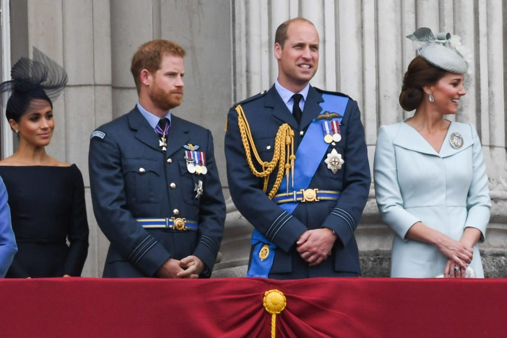 Prince Harry and Prince William feud