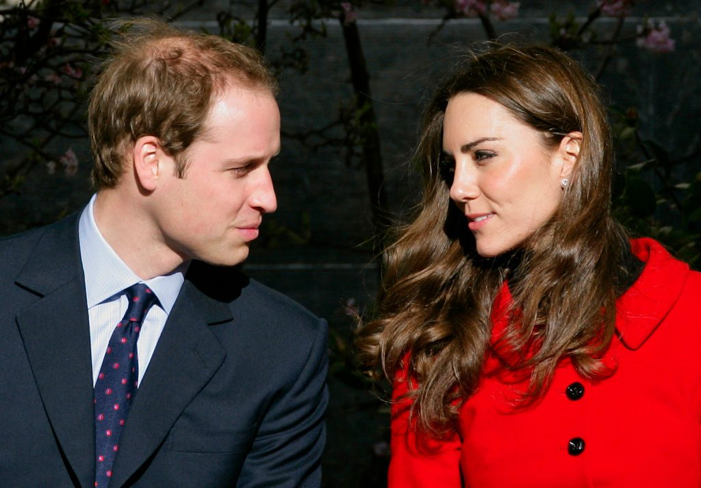 Prince William and Kate Middleton Visit University Of St Andrews