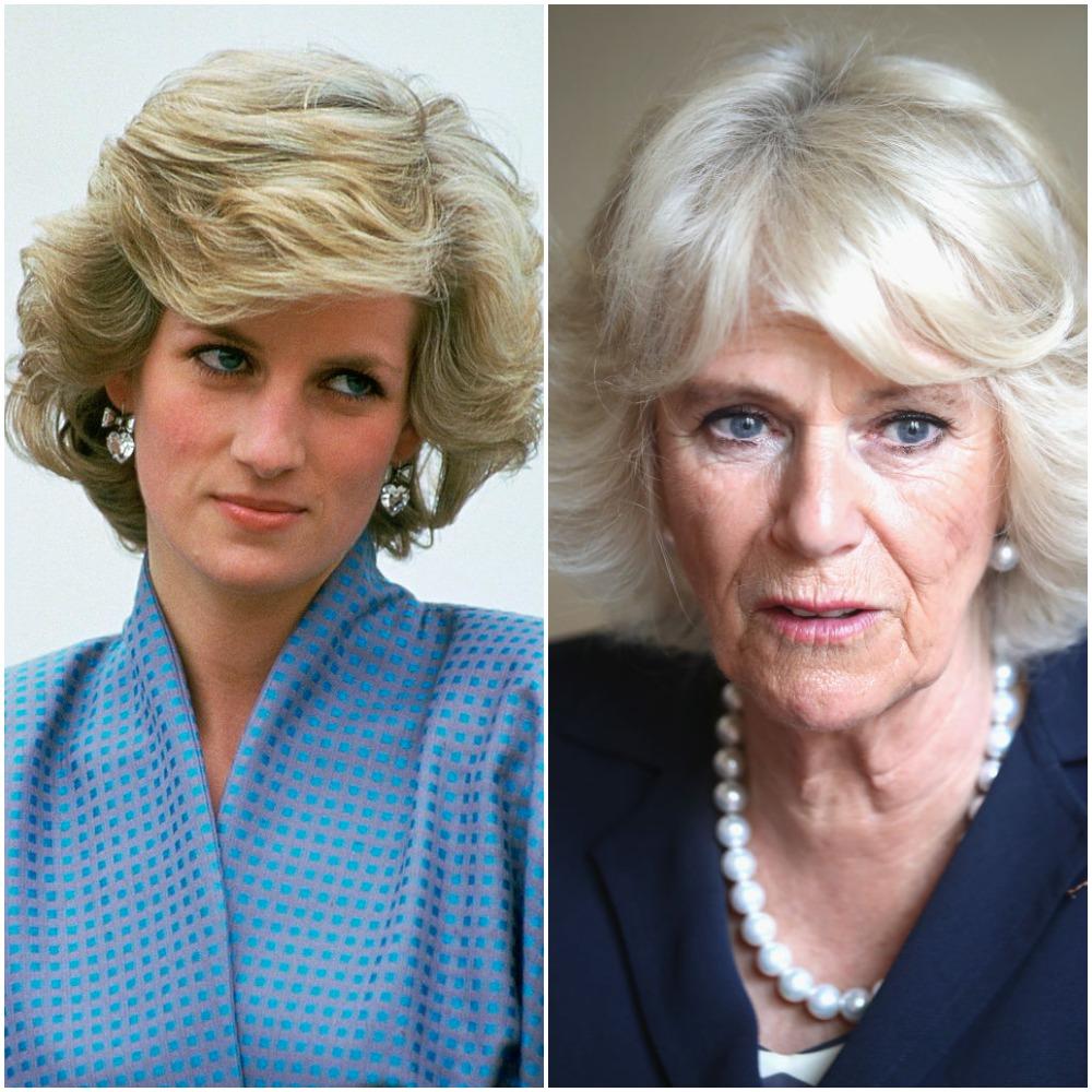 Princess Diana and Camilla Parker Bowles Parker Bowles