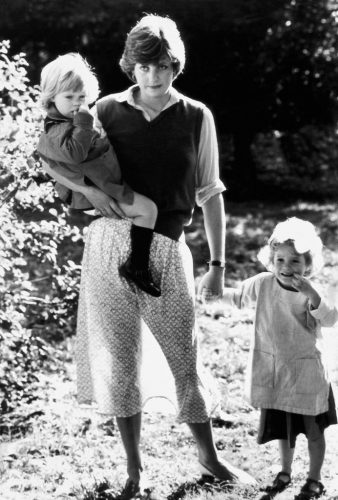 Lady Diana Spencer at the Young England Nursery School in Pimlico on September 17, 1980