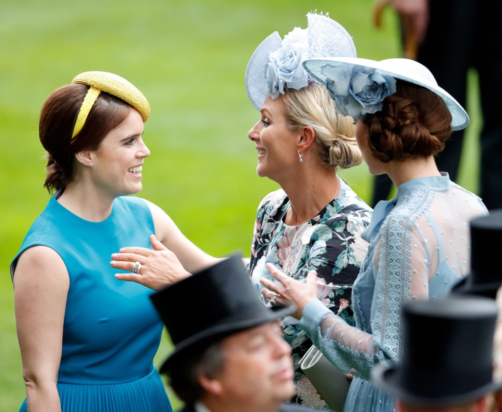 Princess Eugenie, Zara Tindall, and Kate Middleton
