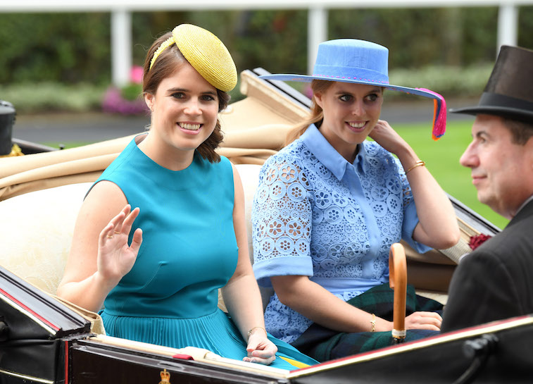 Princess Eugenie of York and Princess Beatrice of York