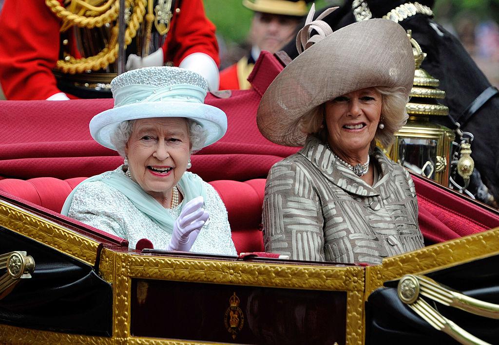 Camilla Parker Bowles and Queen Elizabeth