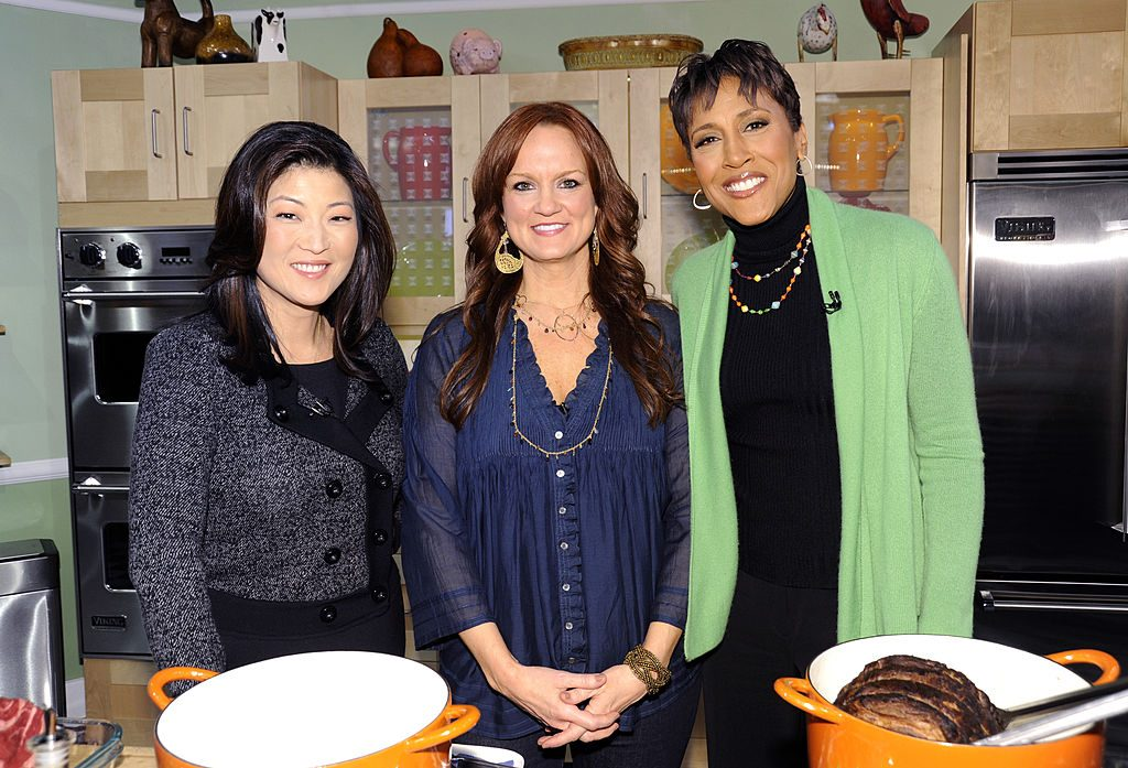 Ree Drummond with JuJu Chang and Robin Roberts | Donna Svennevik/Walt Disney Television via Getty Images via Getty Images