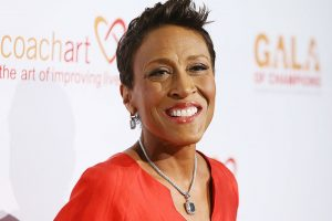 'Good Morning America:' Robin Roberts is on Set, But Not in the News Studio