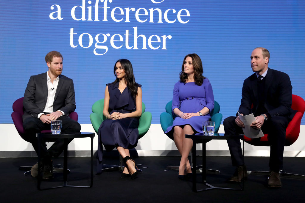 Image result for Prince Harry and Meghan have split from joint foundation with Prince William and Kate