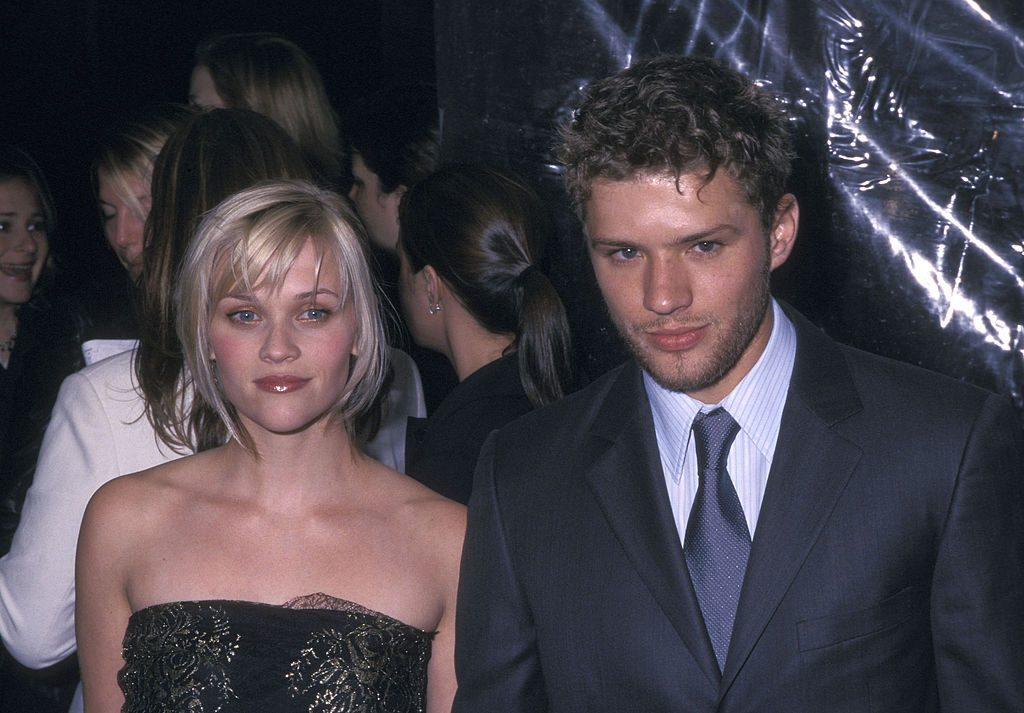 Actress Reese Witherspoon and actor Ryan Phillippe
