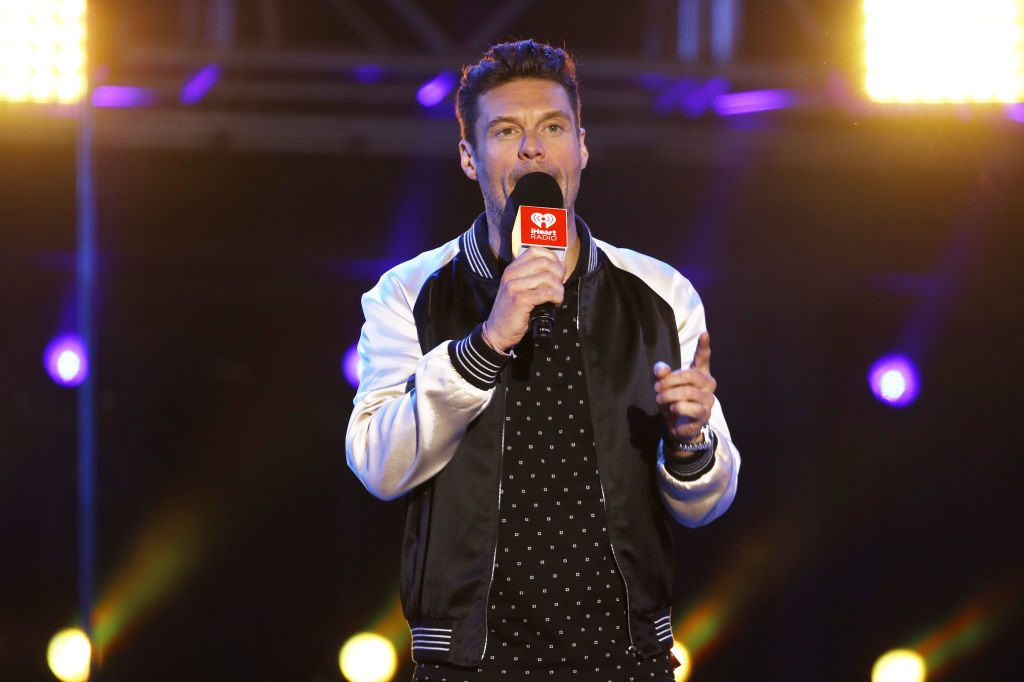 Ryan Seacrest   Rich Fury/Getty Images for iHeartMedia