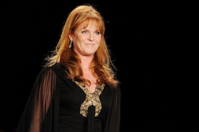 Sarah Ferguson in 2010