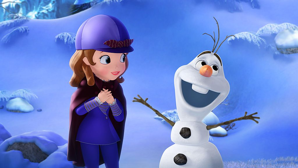 Olaf and Sofia the First
