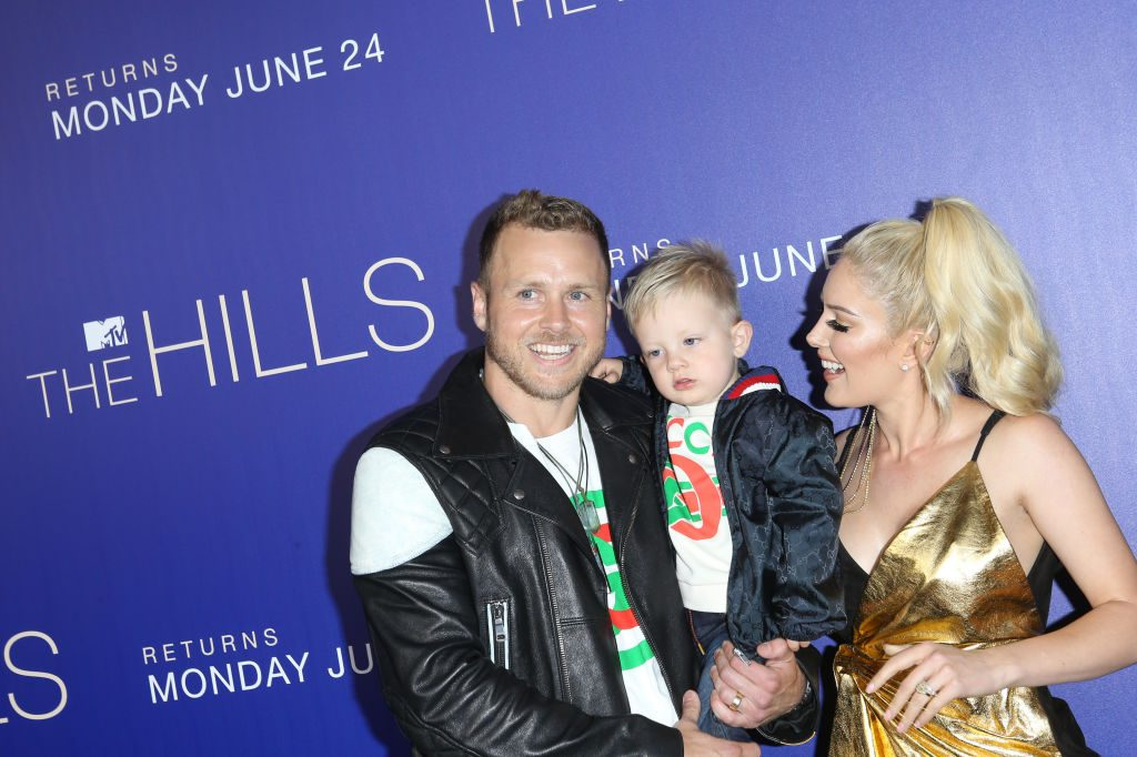 Heidi Montag with Spencer Pratt and their son, Gunner Stone