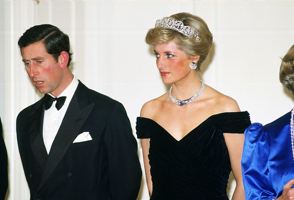 Princess Diana in the Spencer Tiara
