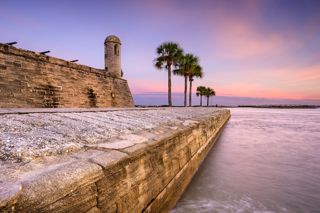 Fort in St. AugustineFort in St. Augustine, Florida