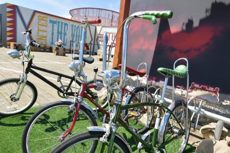 Bikes from 'Stranger Things 3' event.