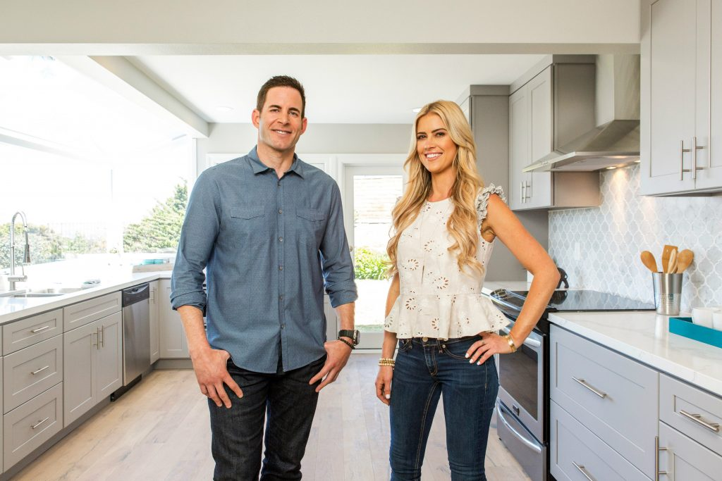Tarek and Christina from Flip or Flop