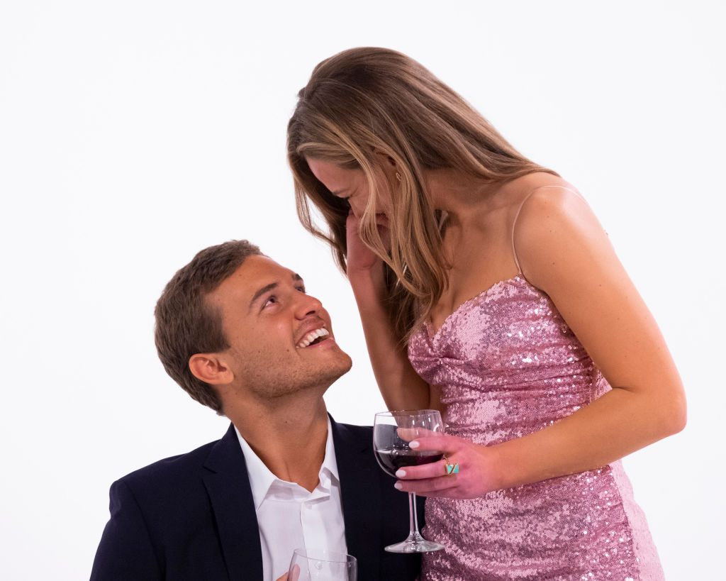 """Hannah Brown and Peter Weber on """"The Bachelorette"""""""