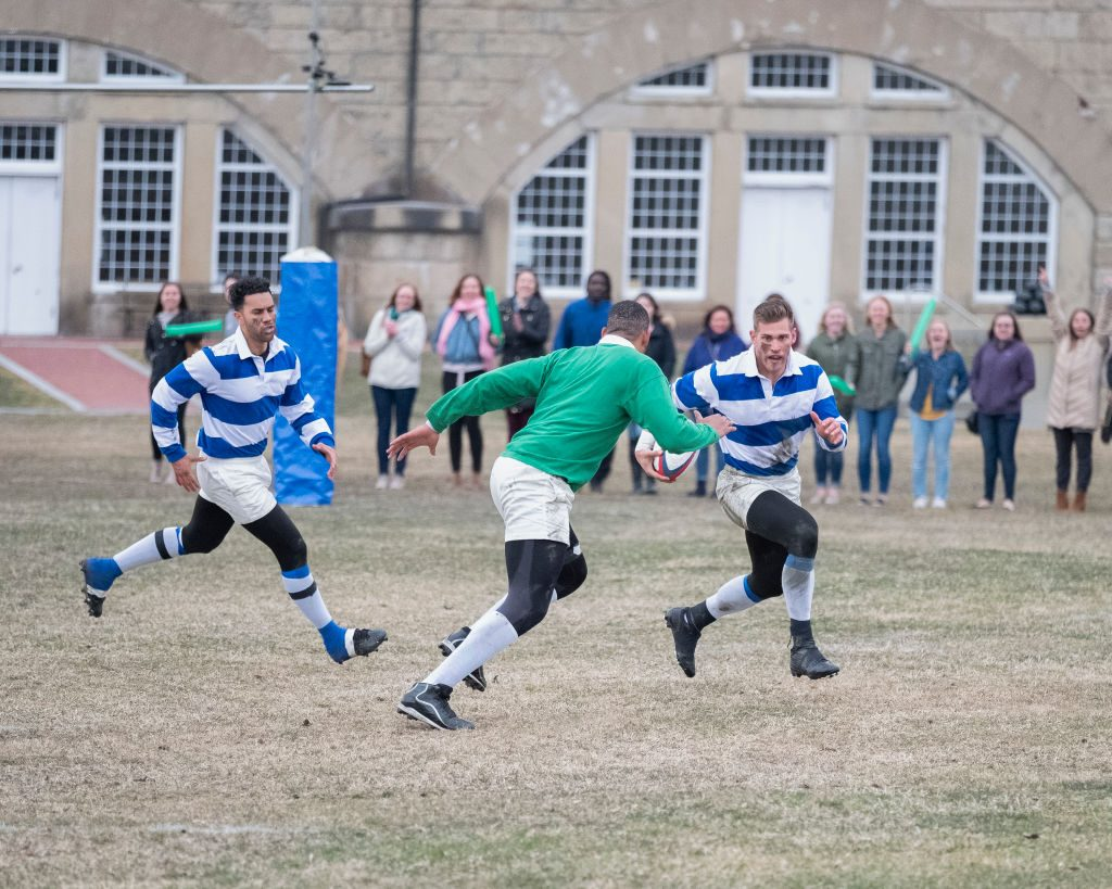 'The Bachelorette' Rugby Match | Robert Clark via Getty Images