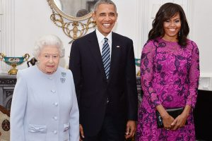 Michelle Obama Recalls One Time Queen Elizabeth Broke Royal Protocol, Calling the Rules 'Rubbish'