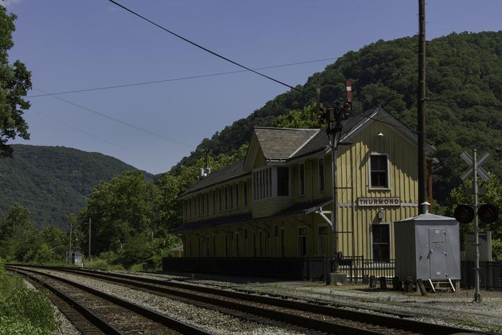 Thurmond train station