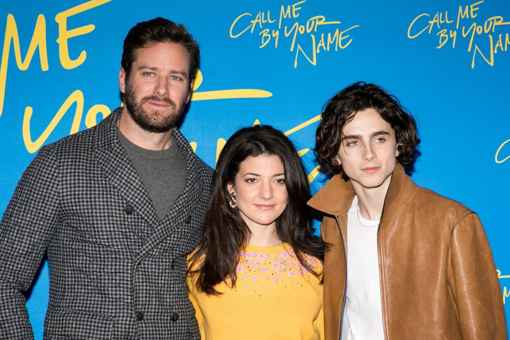 Call Me By Your Name cast