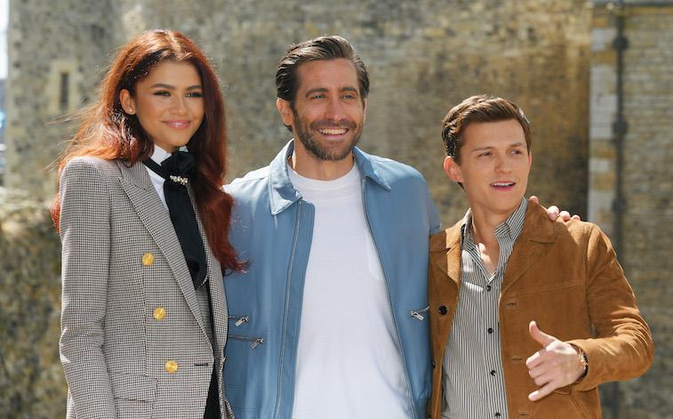Zendaya, Jake Gyllenhaal and Tom Holland