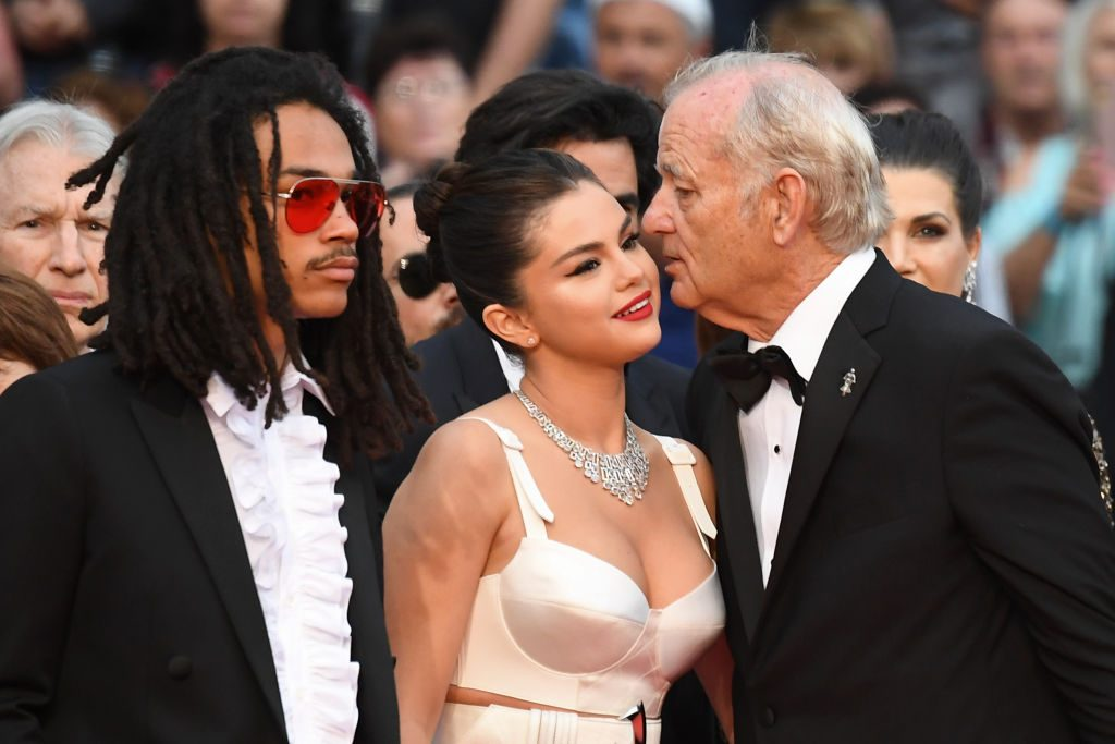Selena Gomez and Bill Murray at Cannes Film Festival
