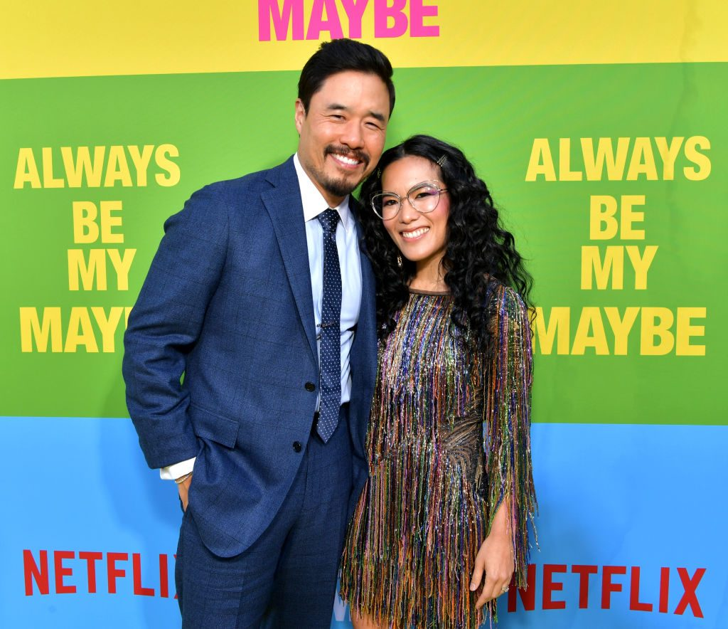 Randall Park and Ali Wong attend the world premiere of Netflix's Always Be My Maybe at Regency Village Theatre on May 22, 2019.