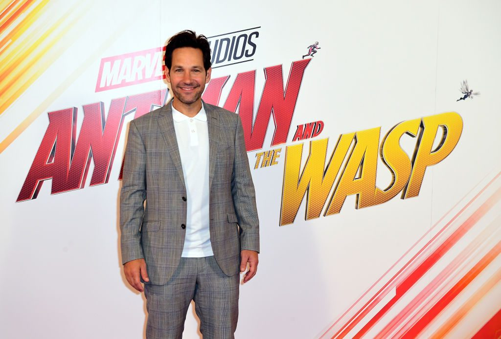 Paul Rudd attending a photocall for Ant-Man and The Wasp, held at Corinthia Hotel, London