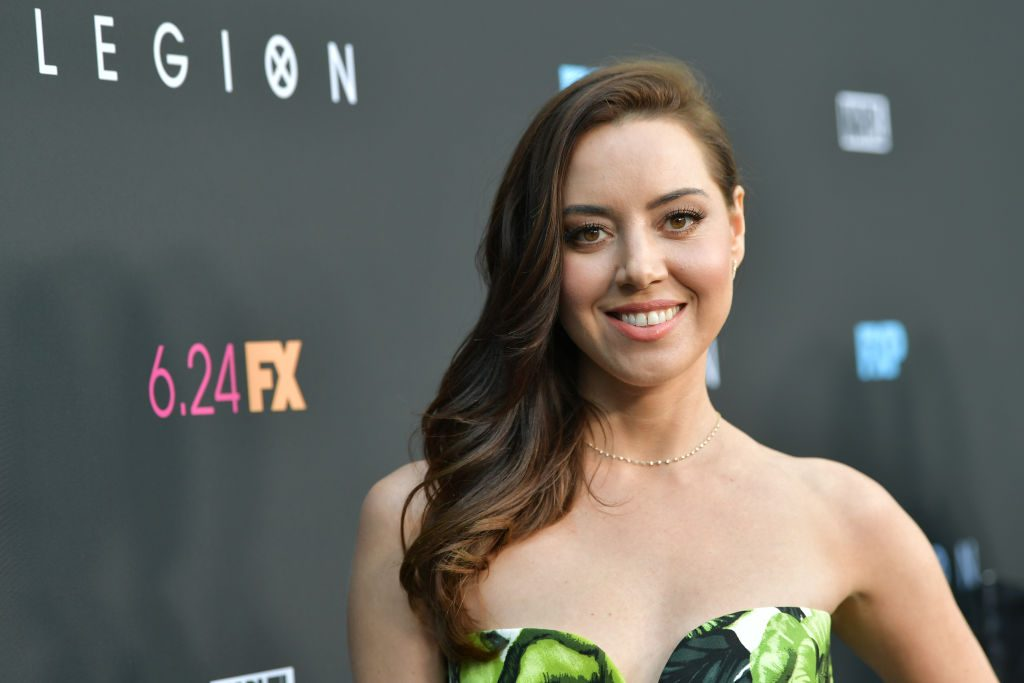 Aubrey Plaza attends the LA premiere of FX's Legion Season 3 at ArcLight Hollywood on June 13, 2019, in Hollywood, California