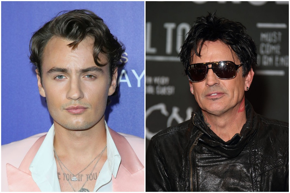 Brandon Thomas Lee (L) and Tommy Lee (R)