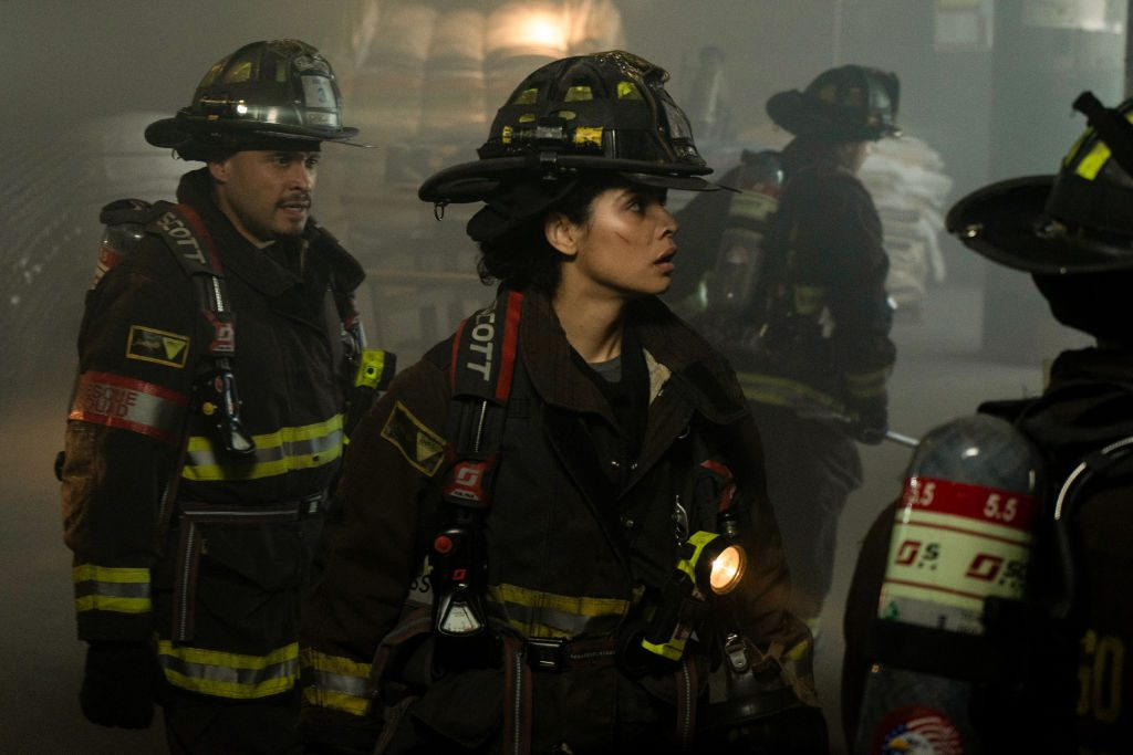 Scene from Chicago Fire