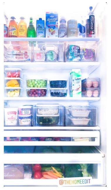 Khloe Kardashian fridge