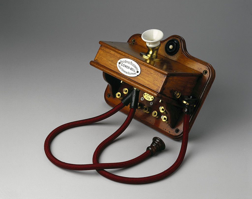 A telephone from 1881