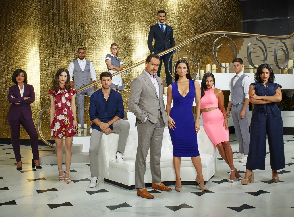 The cast of ABC's Grand Hotel