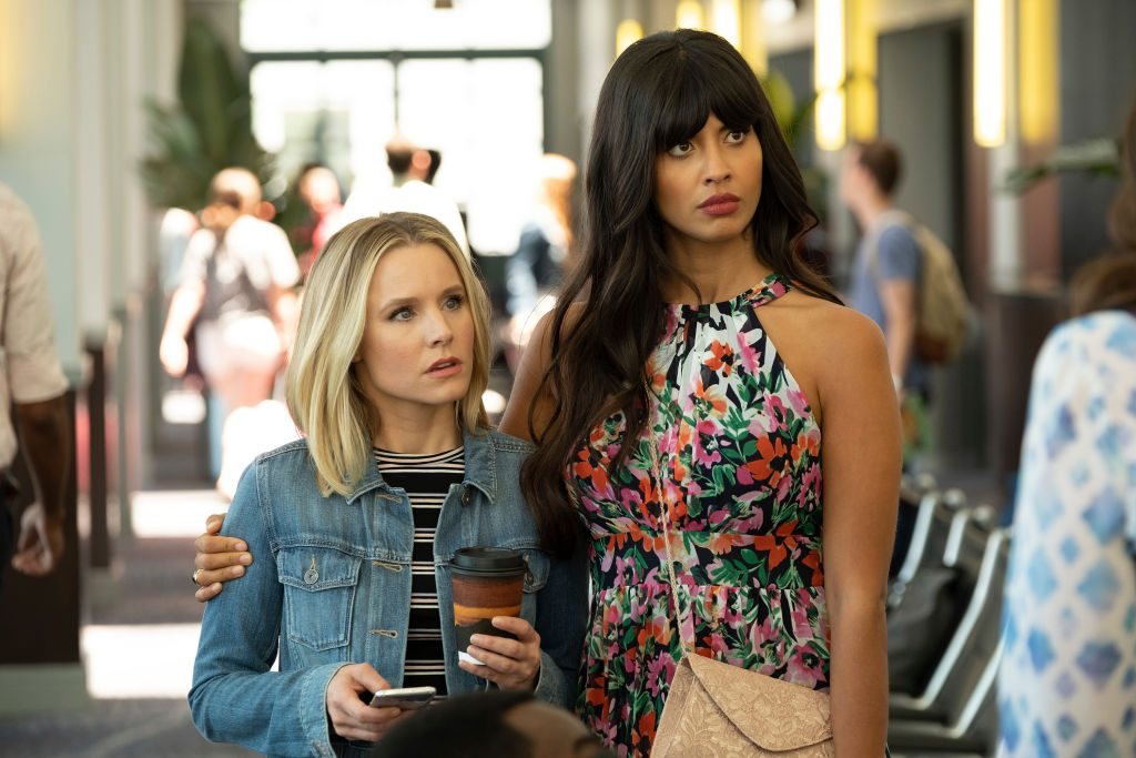 Kristen Bell and Jameela Jamil