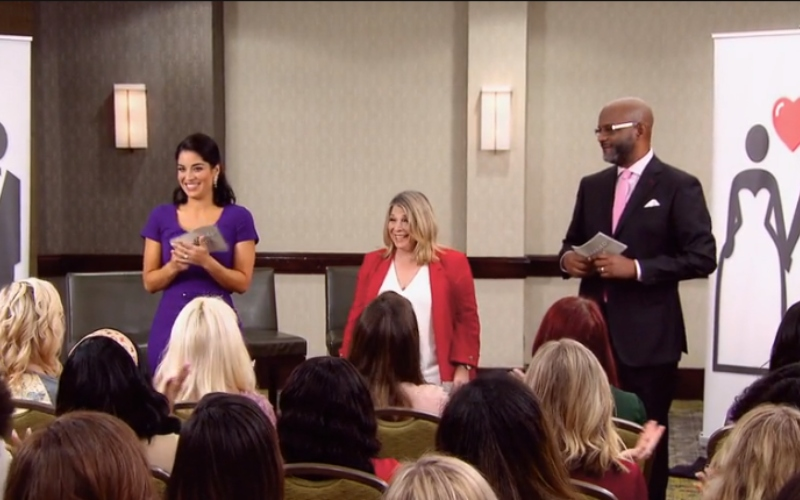 """Dr. Viviana Coles, Dr. Pepper Schwartz, and Pastor Calvin Roberson on """"Married at First Sight"""""""