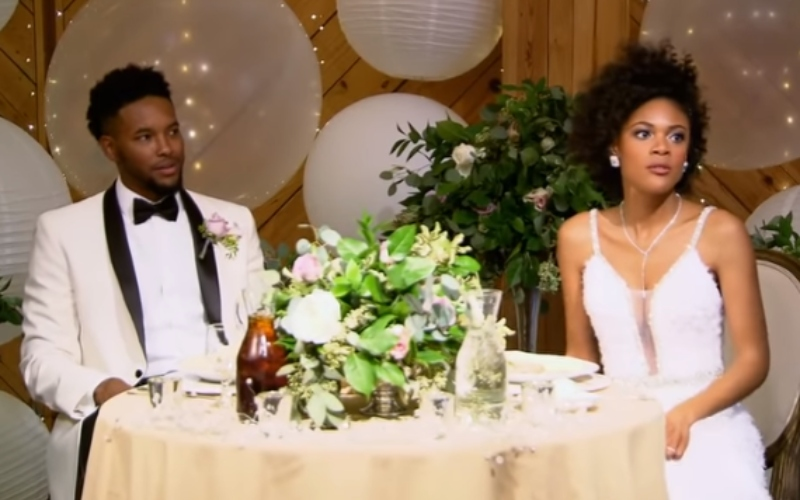 "Iris Caldwell and Keith Manley on ""Married at First Sight"""